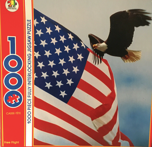 American Publishing 1000 Piece Free Flight Jigsaw Puzzle