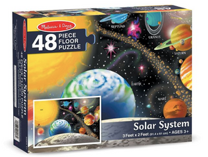 Melissa And Doug Solar System Floor Puzzle 48pc