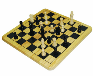 Pavilion Solid Wood Chess Set
