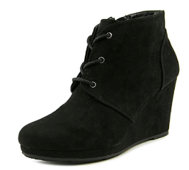Style & Co. Womens Alaisi Closed Toe Ankle Fashion Boots, Black, 5.5 M