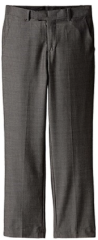 Calvin Klein Big Boys' Mini Birdseye Pant, Black, 18 Regular