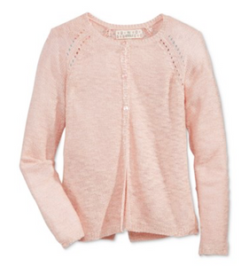 Pink Republic Jacket Cardigan, Moonstone Pink, M (10/12)