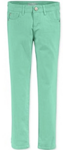 Copy of Celebrity Pink Girls' Color Skinny Jeans, Green, Size 10