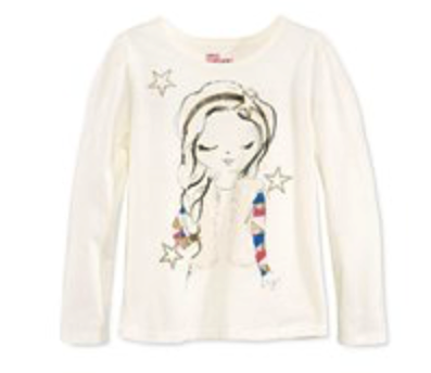 Epic Threads Graphic-Print T-Shirt, Holiday Ivory, Size 3T