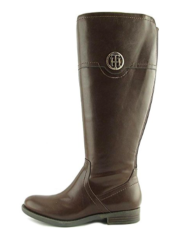 Tommy Hilfiger Womens Silvan2-WC Closed Toe Knee High Fashion Boots, Brown, 5.5 US