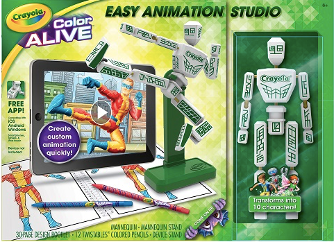 Crayola Color Alive Animation Studio For Easy Level Of Difficulty