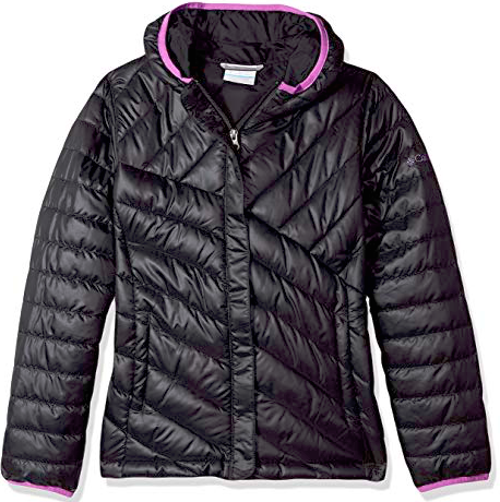 Columbia Youth BLK Jacket, XSmall