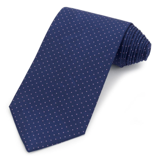The Men's Store Bloomingdale's Classic Tie, Navy/Pink