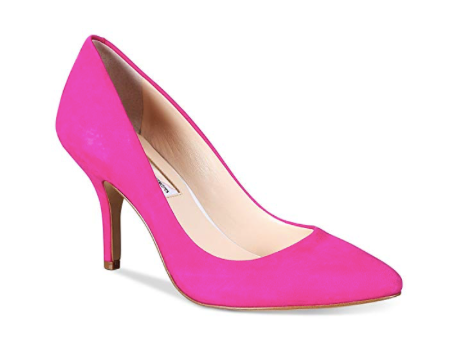 I.N.C. Women's Zitah Pointed Toe Pumps, Deep Fuchsia Suede,  6W
