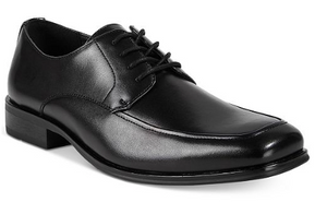 Alfani Men's Ralphie Moc Toe Oxford, Black, 11 M