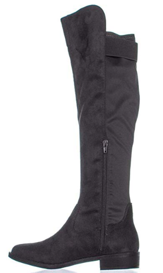 Zigi Rebel Onya Knee High Boots, Dark Gray, 8.5
