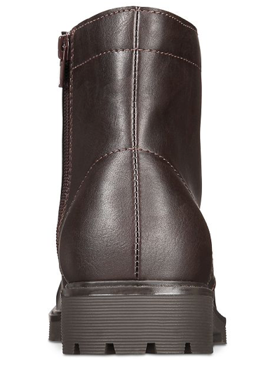 Club Room Men's Landonn Boots, Brown, 10.5 M