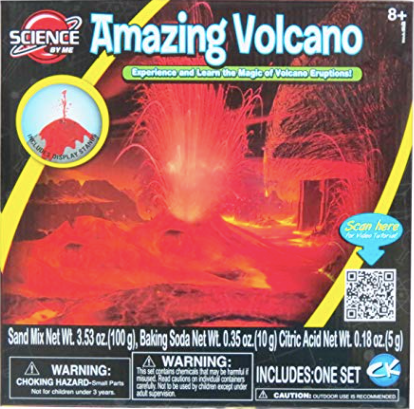 Science By Me 2 in 1 Amazing Volcano and Magic Snow