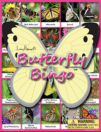 Butterfly Bingo Board Game by Lucy Hammett Games