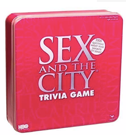 Sex and the City Trivia Game Travel Edition by Cardinal Industries
