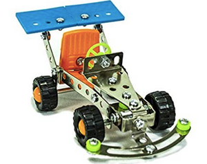 Build Your Own Toys DIY Kit with Motorcycle and Kart Racer Sets Value Pack