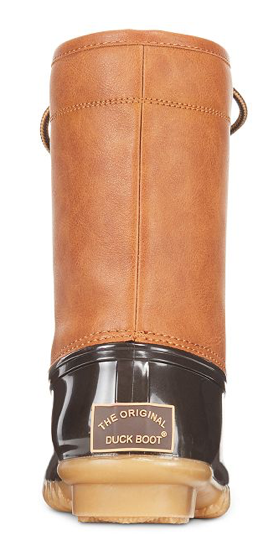 The Original Duck Boot Women's Arianna Rain Boots Tan/Brown, 7.5M