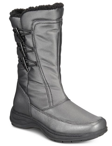 Sporto Dana Womens Water-resistant Boots, Gray
