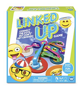 Emoji Linked Up Game Board Game