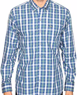 Tommy Bahama Mens Tudo Check Long Sleeve Woven Shirt