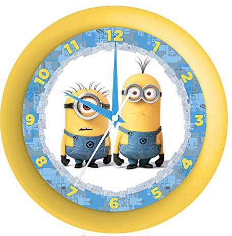 Minions Licensed Wall Clock