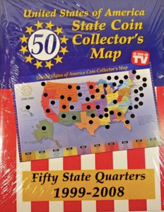 Tristar 50 USA State Quarters Collectors Chart