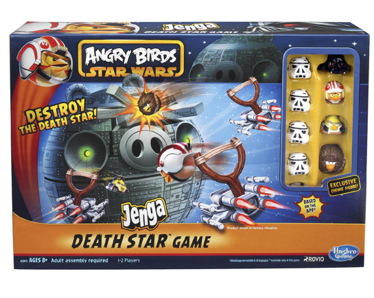Hasbro Angry Birds Star Wars Fighter Pods Jenga Death Star