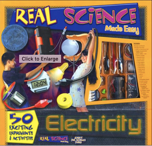 Electricity: Real Science Made Easy  kids, art craft ,stem