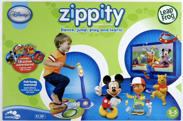 LeapFrog Zippity Learning System  Dance, jump, play and learn
