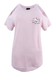 Material Girl Active Babygirl Open Shoulder T-Shirt
