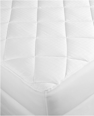 Charter Club Extra Comfort Twin Mattress Pad Level 2, White