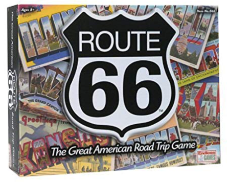 Route 66 The Great American Road Trip Board Game