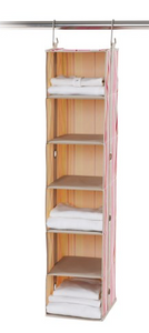 neatfreak! closetMAX 6-Shelf Hanging Closet Organizer