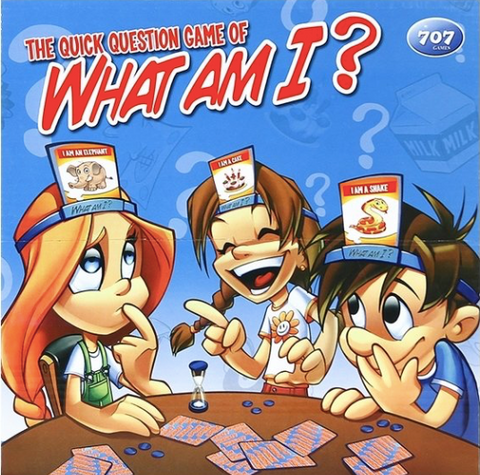 Nicole The Quick Question What am I? Kids Board Game