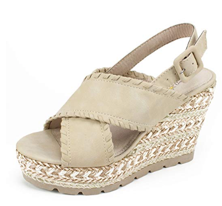 SEVEN DIALS Shoes Alessandra Women's Sandal, Natural/Nubuck, 10 M