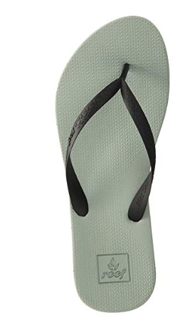 Reef Women's Escape Lux Plus Sandals, Green/Black, 8 M US