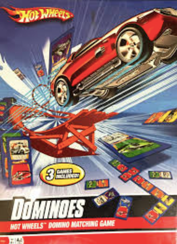Hot Wheels Dominoes Domino Matching Game
