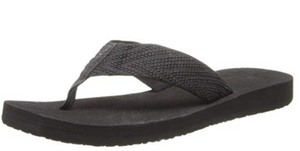 Reef Women's Sandy Love Sandal, Black, 6 M US