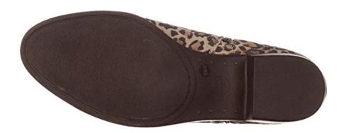 Lucky Brand Women's Basel Ankle Bootie, Natural Leoprd Cow Splt Sued, 6.5 M US