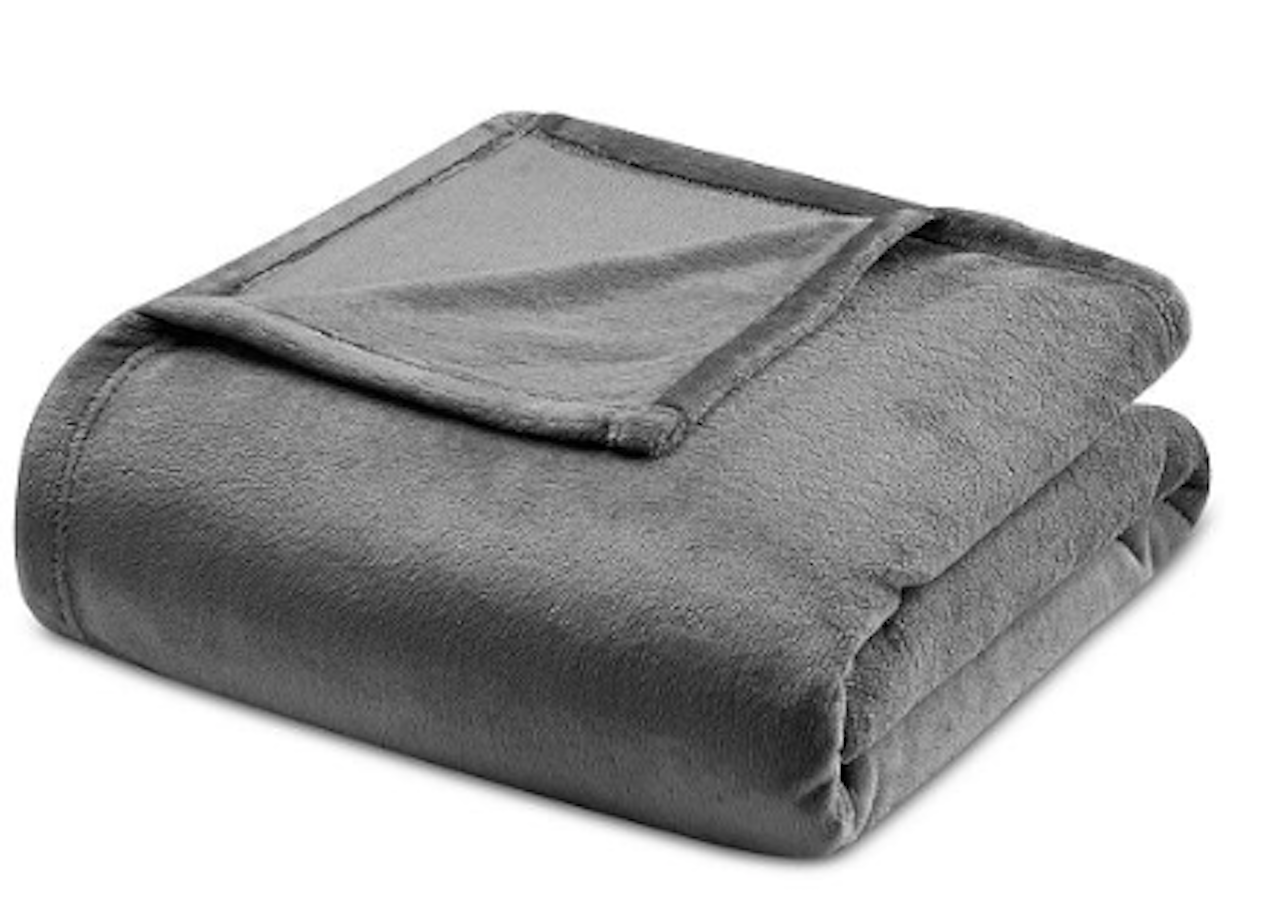 Vellux King Blanket, Tornado Grey