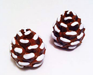 Better Homes & Gardens Holiday Salt & Pepper Shakers Pinecones