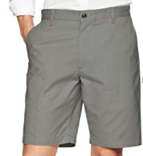 Dockers Men's Classic Fit Perfect Short, Grey, 44