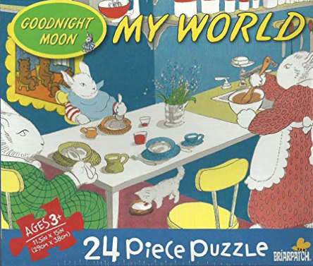 Briarpatch Goodnight Moon, My World Bunny Breakfast 24 Piece Jigsaw Puzzle