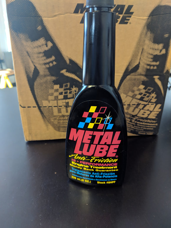 Metal Lube Anit-Friction Engine Treatment Additive ( Hi Performance )