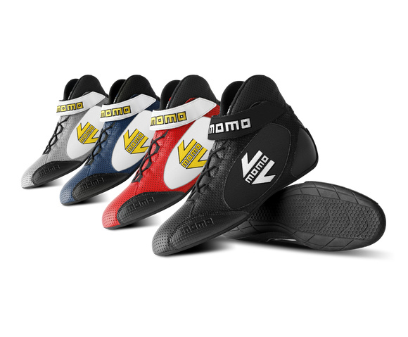 4 pairs of Momo GT Pro boots in all colors