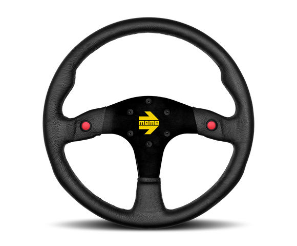 Momo mod 80 leather steering wheel with horn buttons