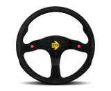 Momo mod 80 suede steering wheel with horn buttons