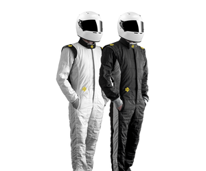 black and white momo xl one racing suit