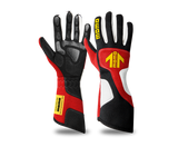 momo xtreme gloves in red