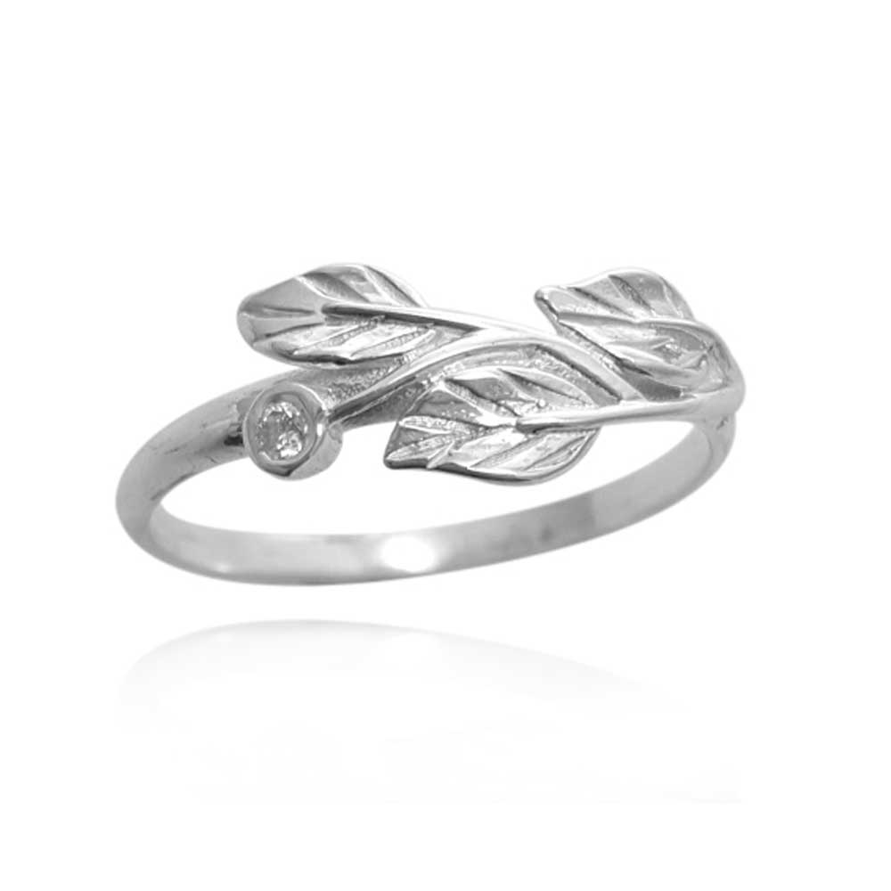 Leaves ring, diamond Leaf Ring, 14K diamond Leaves Ring, leaves band, vine gold ring, matching leaves band, delicate leaves wedding band